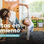 Adultos en aislamiento: Pautas breves y saludables